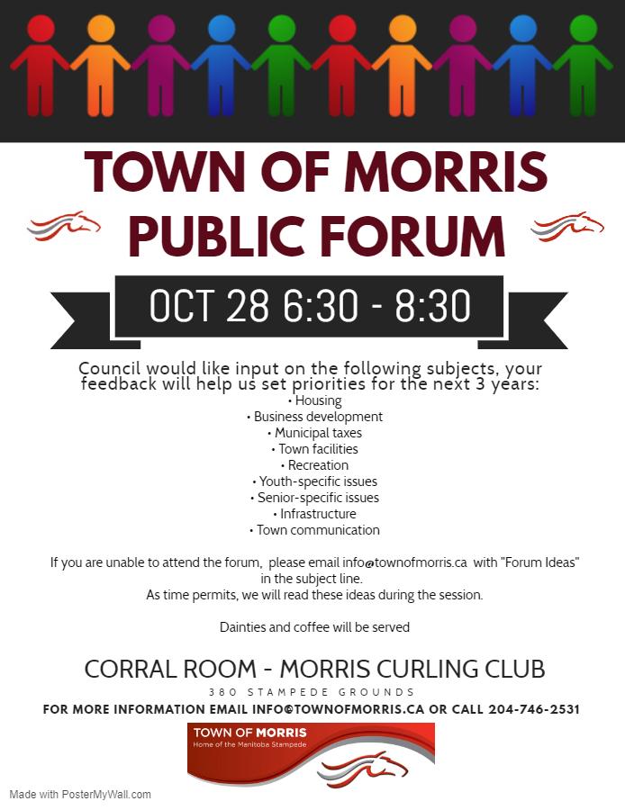 Town Of Morris Manitoba Canada